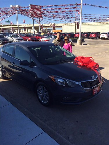 Thank you to Sandra Salas on your new 2014 #Kia #Forte from Orlando Baez and everyone at Westside Kia! #NewCarSmell by Westside KIA