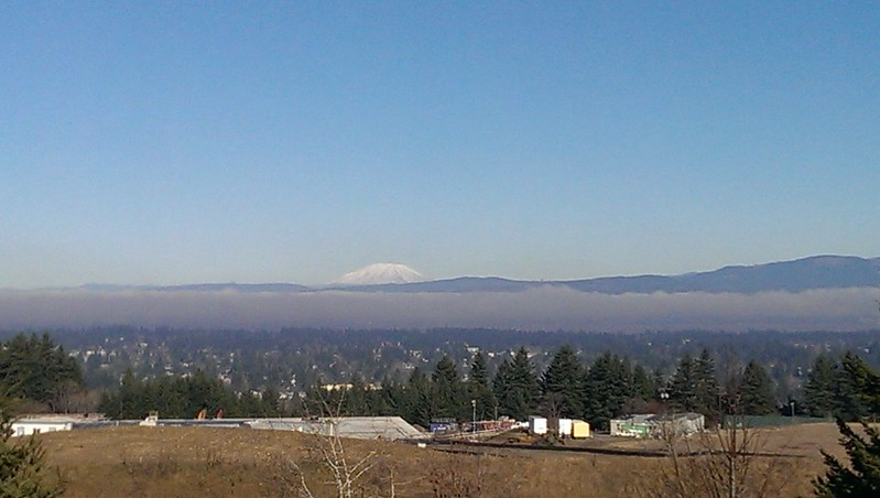 Mt. St. Helens from Powell Butte