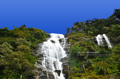 Periyakanal Water Falls at Munnar, Kerala, INDIA.