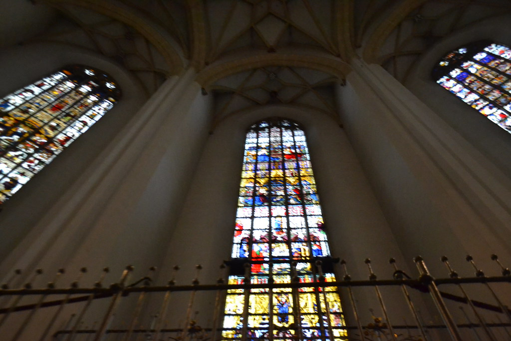 Stained-Glass Windows near Altar | Frauenkirche | Alan