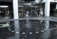 Fountain at Bugis Junction