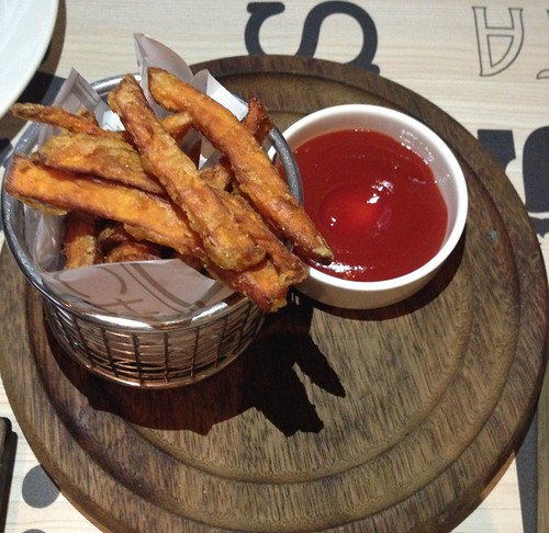 Sweet Potato Fries at The Chop House Singapore