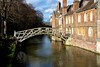 Newton's mathematical bridge, Queen's Cambridge