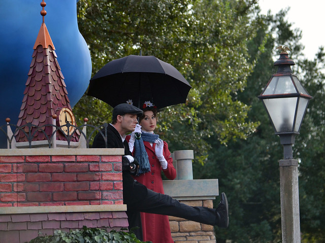 Mary Poppins is not amused