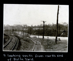 North end of Baltimore yard