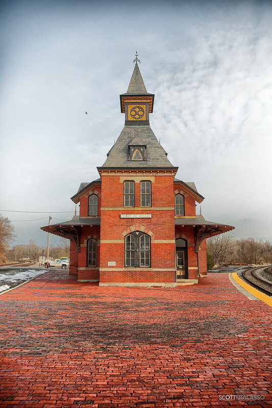 Train Station at Point of Rocks, Maryland
