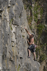 Climbing in the Avon Gorge