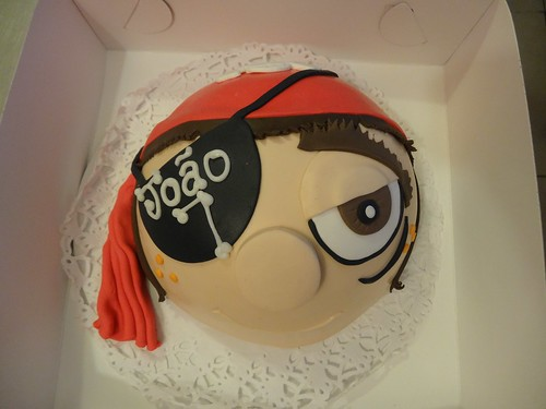 Pirate Boy Cake by CAKE Amsterdam - Cakes by ZOBOT