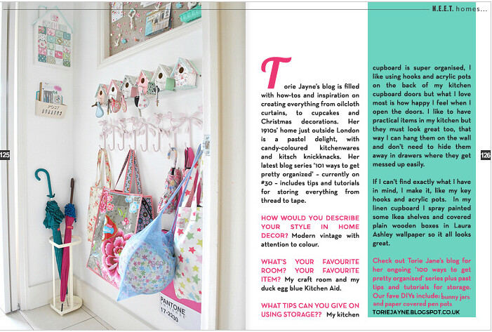 Featured in N.E.E.T magazine
