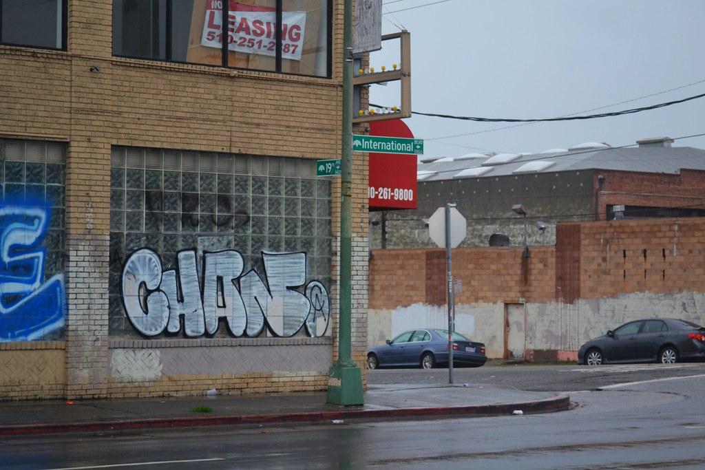CHAN, CA, Graffiti, Oakland