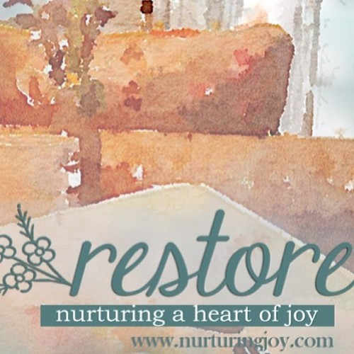 I am so very much looking forward to this workshop from @heartofmyhome! #restoreworkshop2014