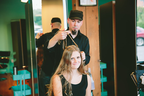 Kelz Beauty helps in Fashion Show preparation (February 2014)