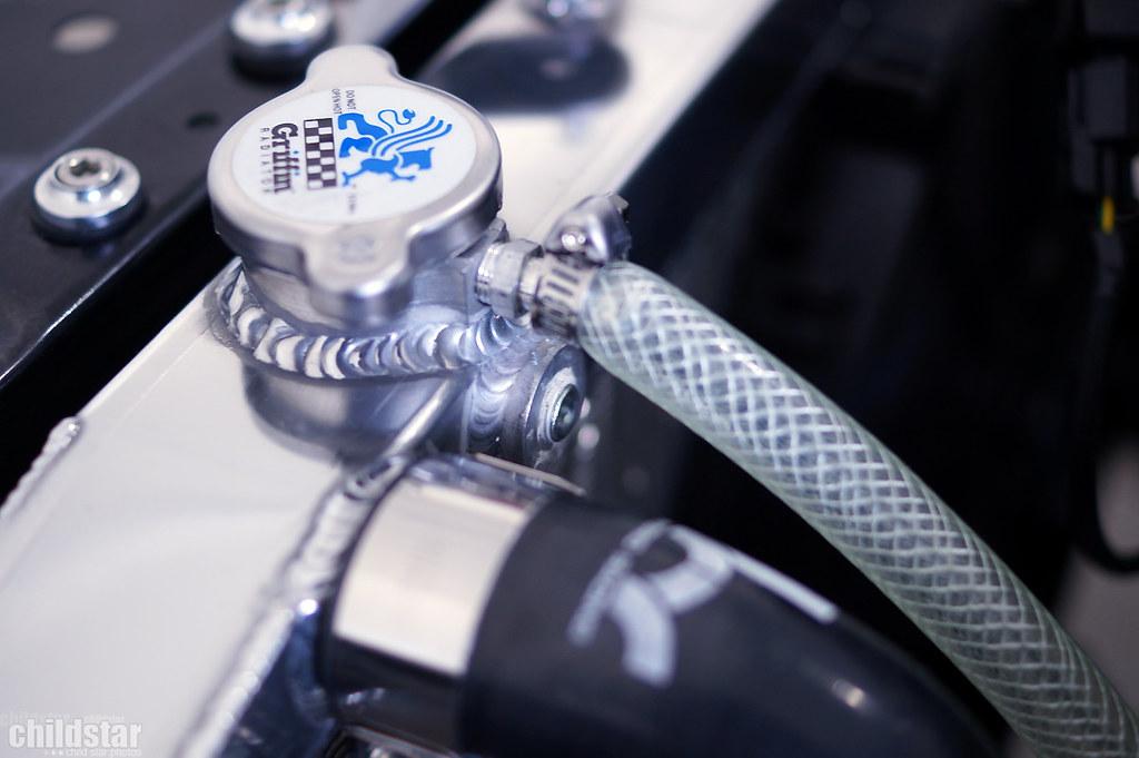 Mishimoto radiator overflow intalled | Kerry Smith | Flickr
