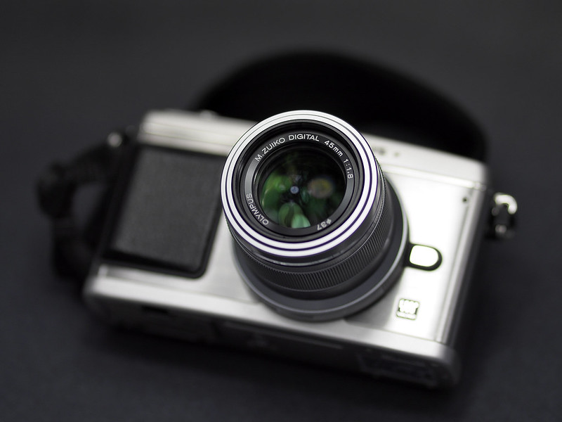 E-P1 and 45mm f1.8