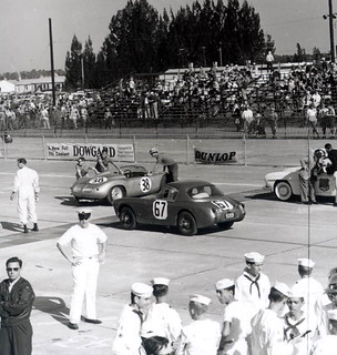 Getting cars ready for the Grand Prix, Sebring, Florida