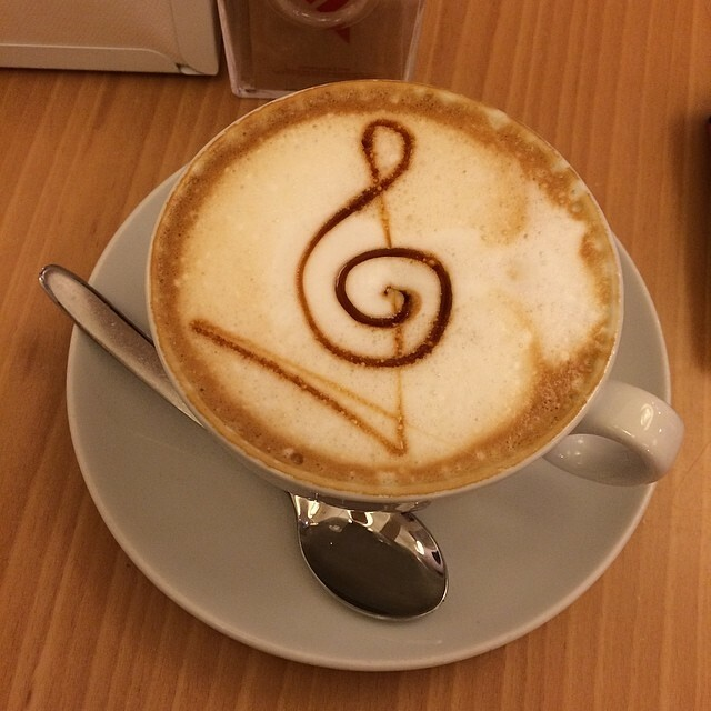 Qnd la tua barista è la migliore! #cappuccino #wonderful #surprise @capuccino_lovers
