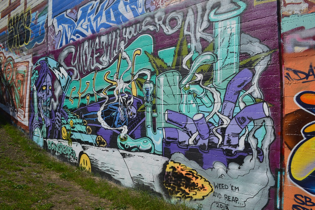 BAER, BTR, Weed, 420, Smoking, Graffiti, the yard, Oakland