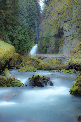 oregon waterfall hdr wahclellafalls columiarivergorge infinitexposure