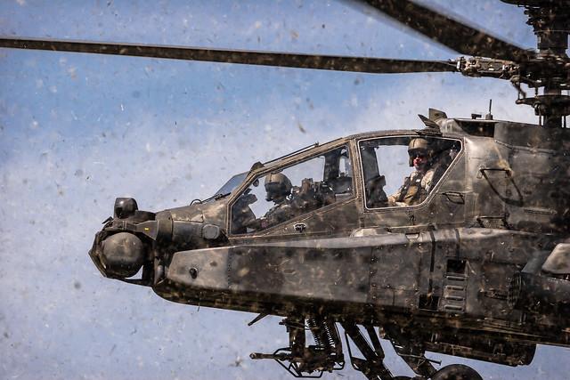 Apache Cockpit Closeup