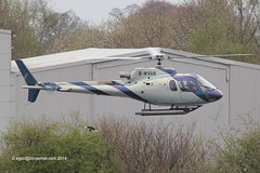 G-WHAM - 2001 build Eurocopter AS350B3 Ecureuil , departing from the Heliport at Barton