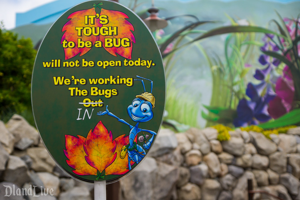Tough to be a Bug - Disney California Adventure