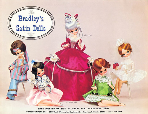 Bradley Satin dolls catalog