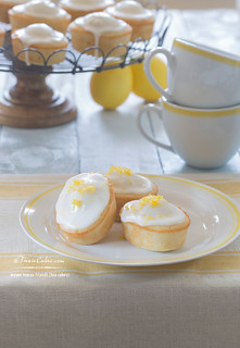 Meyer Lemon Friands recipe - Tea Cakes