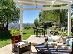 courtyard, backyard, outdoor structure, garden, property, pergola, yard, estate, interior design, patio, real estate, home,