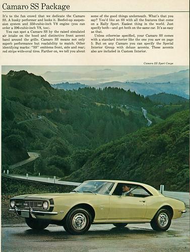 1968 Chevrolet Camaro Super Sport Hardop