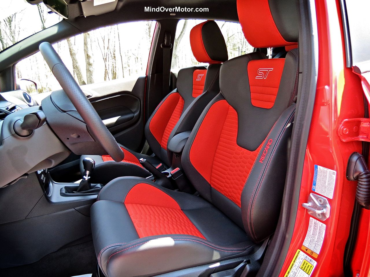 Ford Fiesta ST Recaro Racing Seats