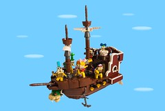 Koopalings' airship