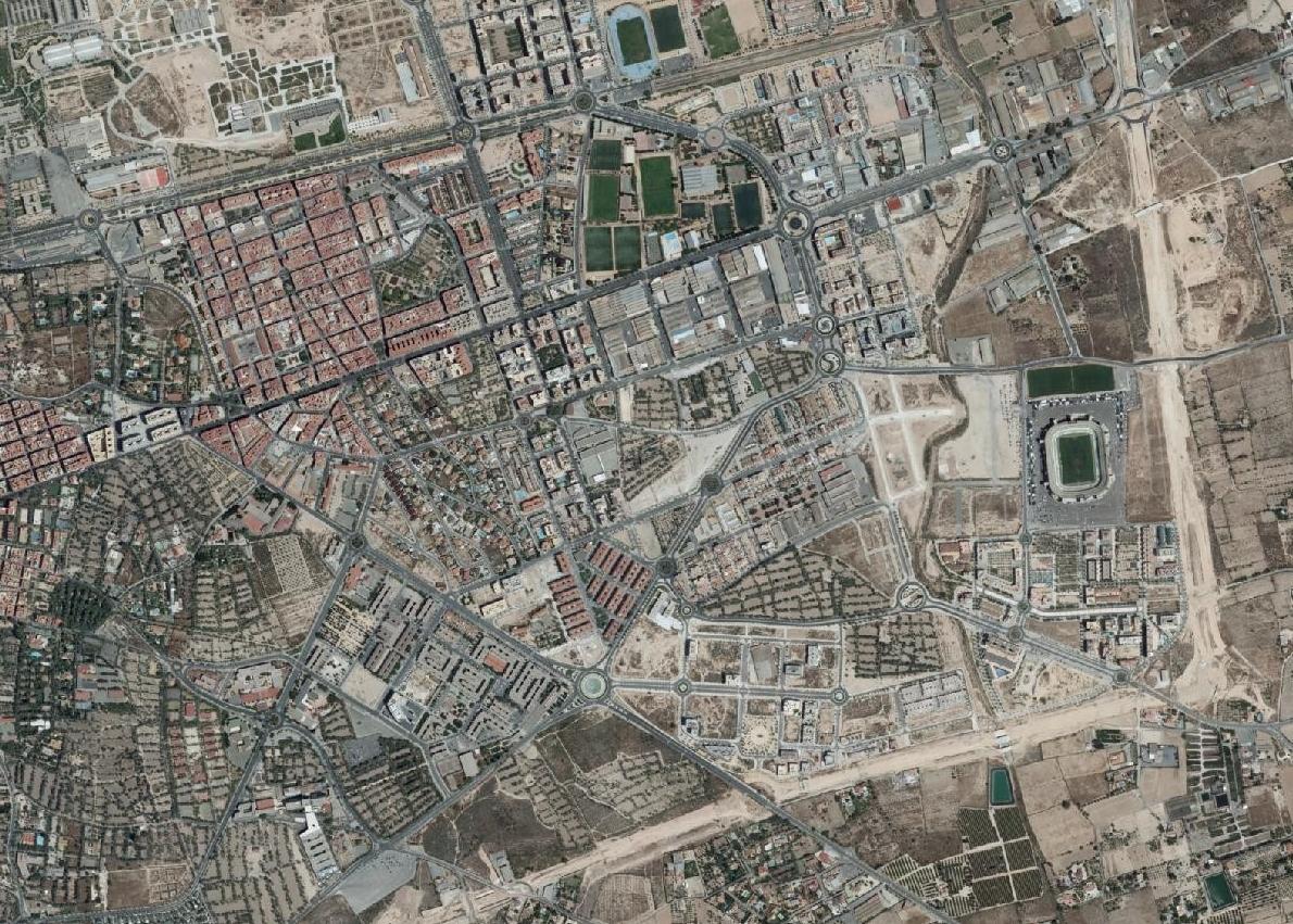 elche, alicante, elernes, urbanismo, planeamiento, urbano, desastre, urbanístico, construcción, rotondas, carretera
