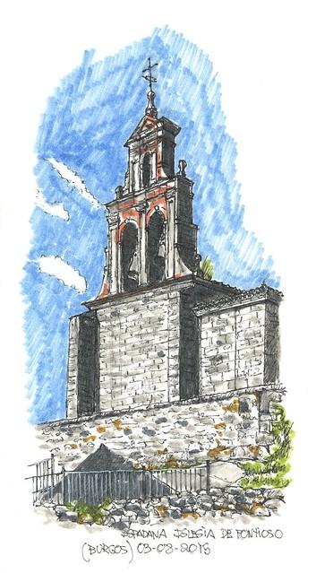 Fontioso (Burgos). Iglesia