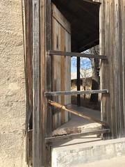 Abandoned buildings, Chinati Foundation