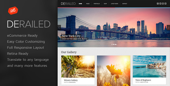 DeRailed v2.3 - Photography & Portfolio Theme