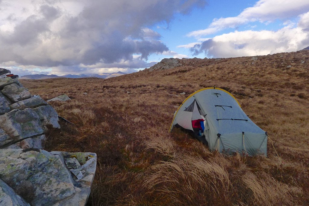 Wild Camping above the River Ling