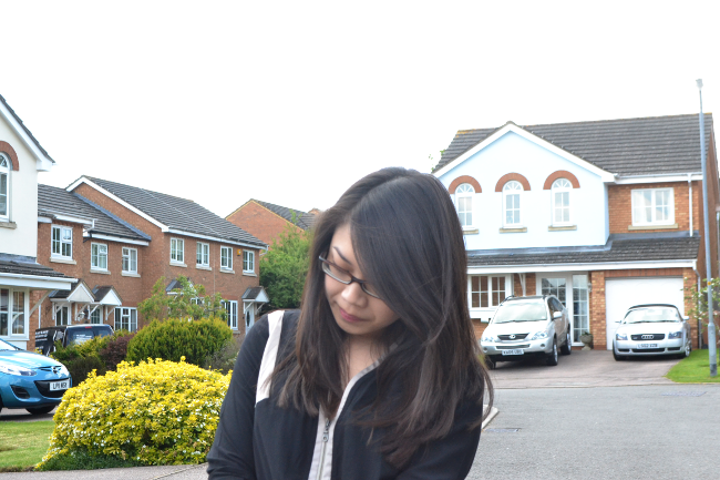 Daisybutter - UK Style and Fashion Blog: what i wore, ootd, 7 for all mankind black & white collection