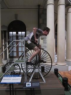 meiji-era pennyfarthing bike