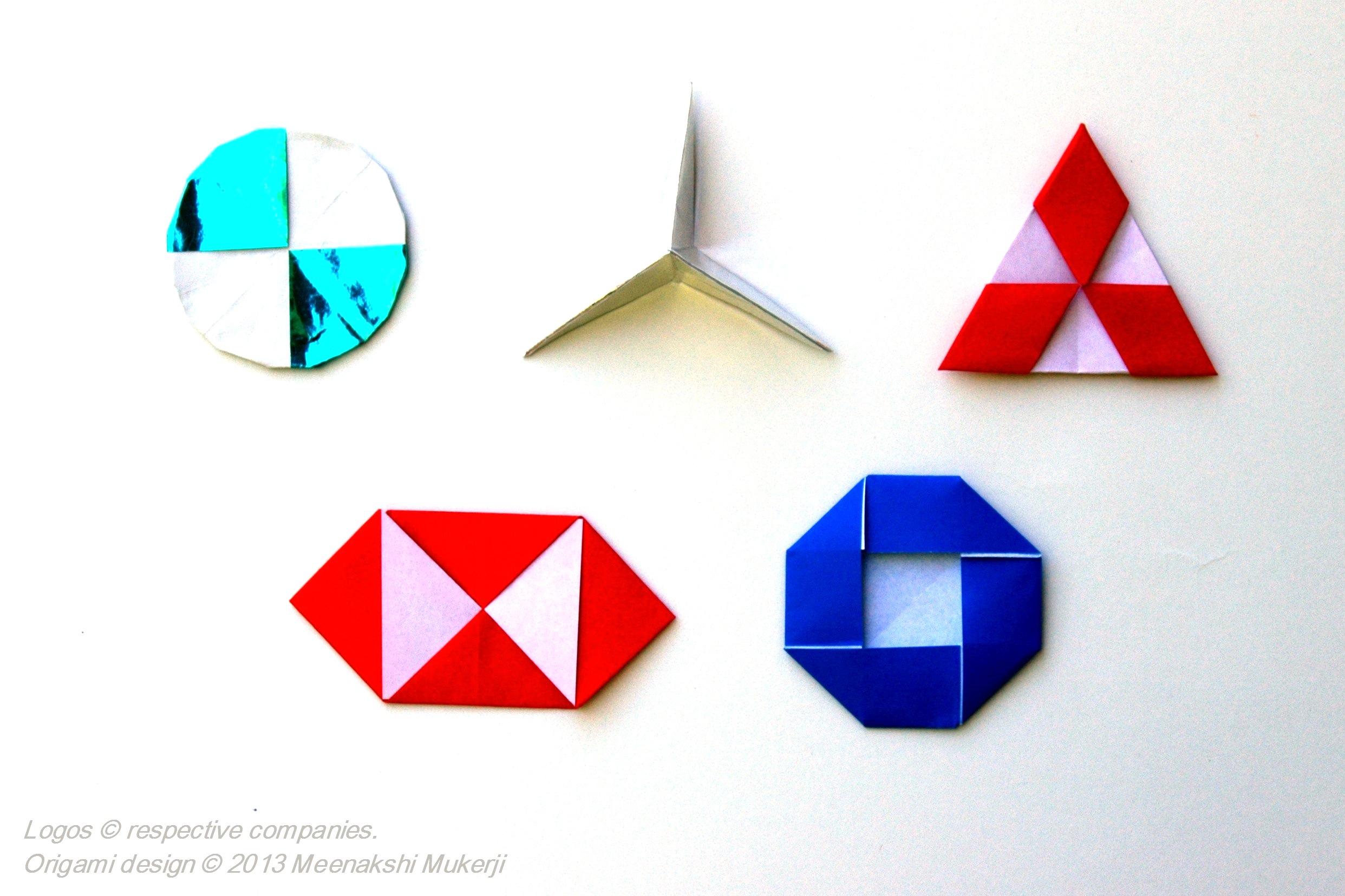 Company Logos in Pureland Origami - Meenakshi Mukerji ... - photo#9