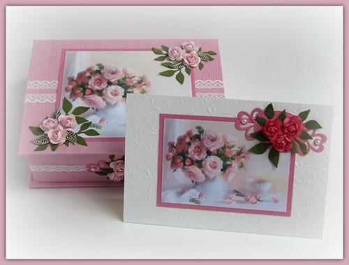 Roosa karp ja kaart