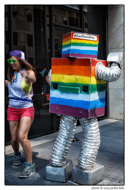 Pride Robot Dance Party