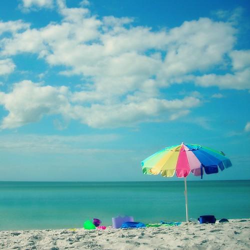 sun beach gulfofmexico umbrella square relax florida bonitasprings hcs loverskey flipmode79