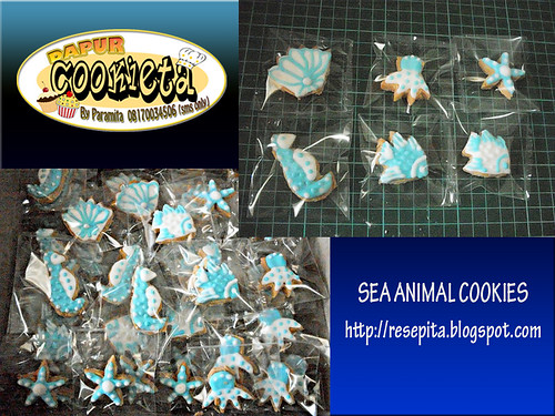SEA ANIMAL COOKIES