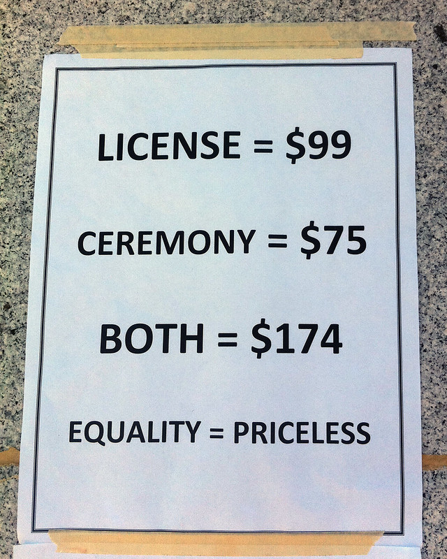 Equality = Priceless