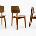 Plywood 412 chair, in walnut.