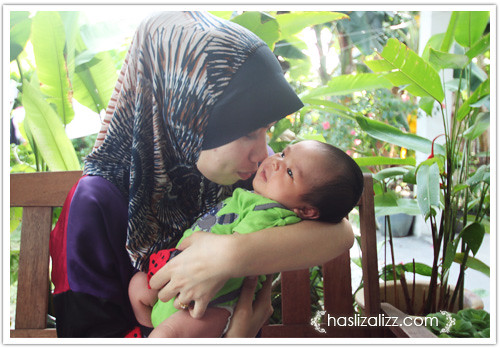 9339920648 3ef789a0d9 Melawat baby Newborn Uncle Meo