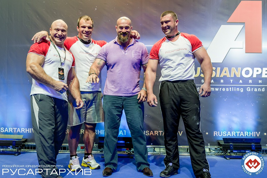 Alexey Semerenko - Denis Cyplenkov - Sergey Badyuk - Andrey Pushkar │ A1 RUSSIAN OPEN 2013, Photo Source: armsport-rus.ru