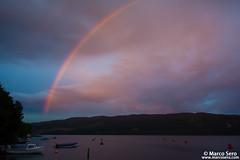 Sunset in Loch Ness