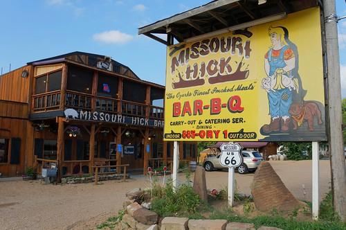 Missouri Hick BBQ - Route 66, Cuba, Missouri