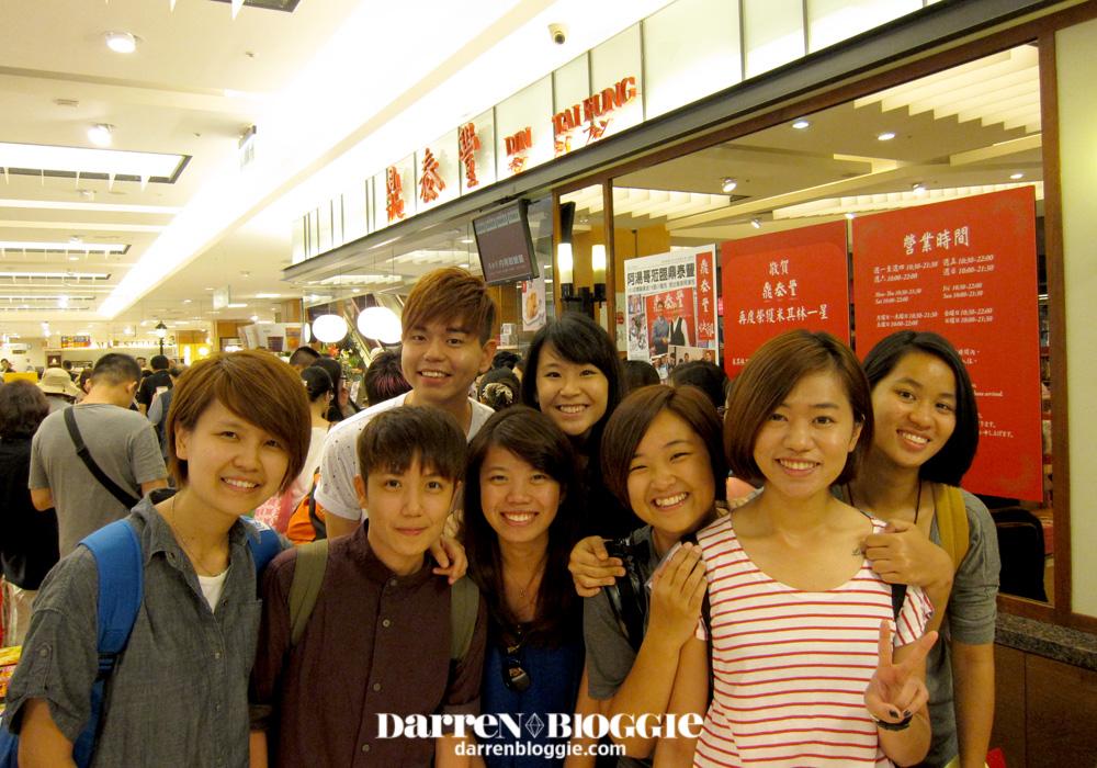 Taiwan Trip 2013 Ding Tai Feng